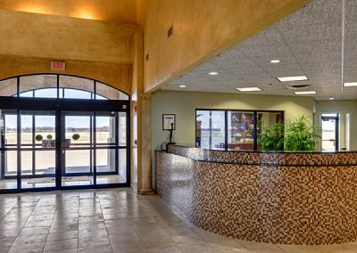 Regional Jet Center Lobby
